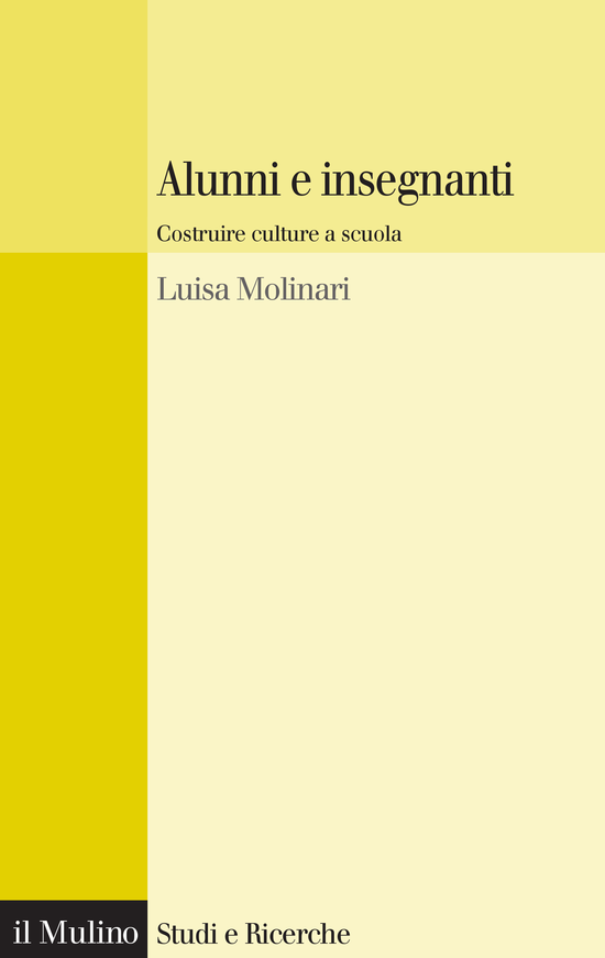 Copertina del libro Alunni e insegnanti