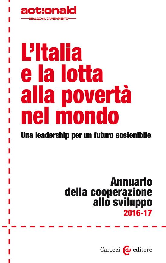 Copertina del libro L'Italia e la lotta alla povertà nel mondo (Una leadership per un futuro sostenibile)