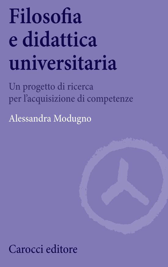 Copertina del libro Filosofia e didattica universitaria